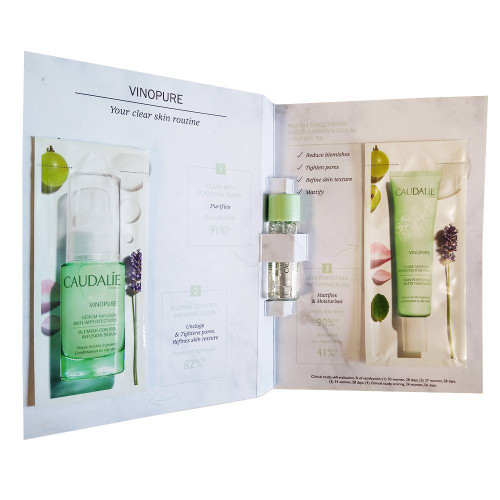 Caudalie Vinopure 3 Step Routine Sample