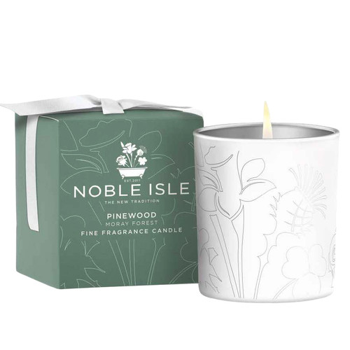 Noble Isle Pinewood Fine Fragrance Candle