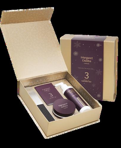 Margaret Dabbs 3 Step Christmas Gift Set