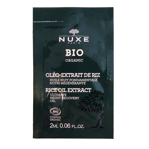 Nuxe Organic Ultimate Night Recovery Oil Sachet