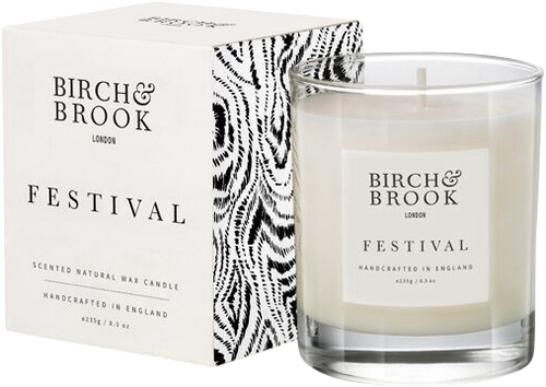 Birch & Brook Festival Candle