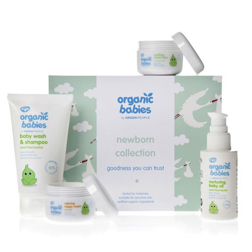 Green People Organic Babies Newborn Gift Collection