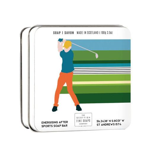 Scottish Fine Soaps Soap In A Tin - Golf