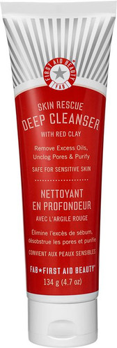 First Aid Beauty Skin Rescue Deep Cleanser With Red Clay