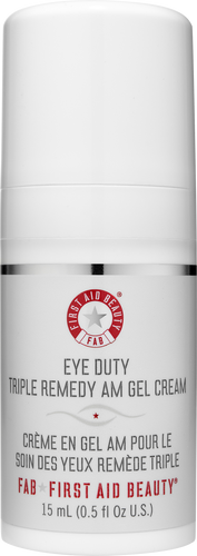 First Aid Beauty Eye Duty Triple Remedy AM Gel Cream