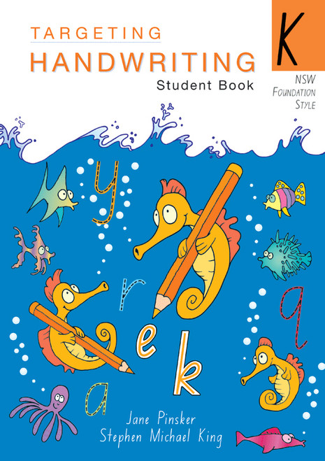 Targeting Handwriting NSW Year K Student Book