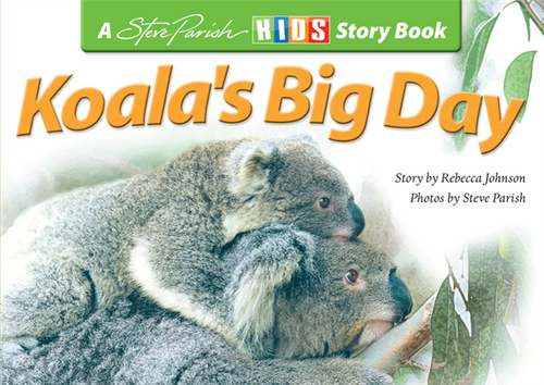Steve Parish - Children's Story Book - Koala's Big Day