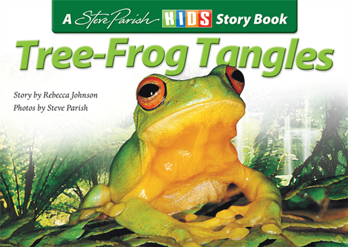 Steve Parish - Children's Story Book - Tree Frog Tangles