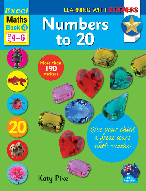 Excel Learning with Stickers - Maths Book 4 School Skills