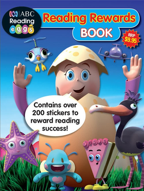 ABC Reading Eggs - Reading Rewards Book