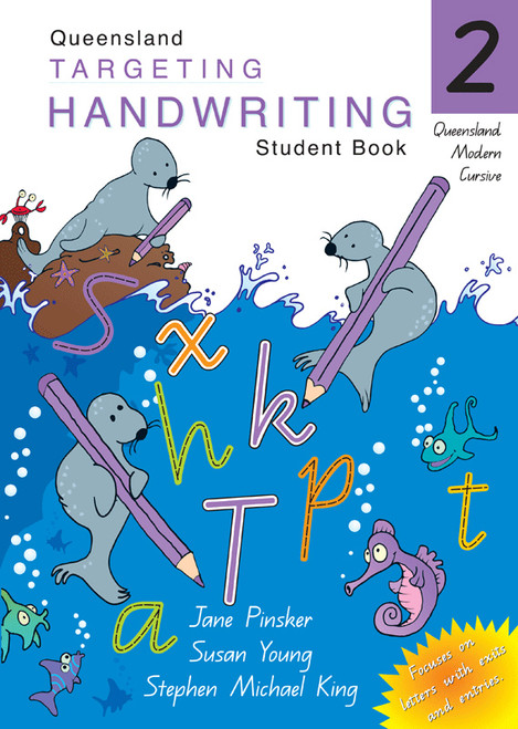 Targeting Handwriting QLD Year 2 Student Book