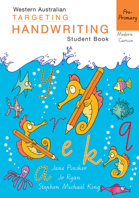 Targeting Handwriting WA Pre-Primary Student Book