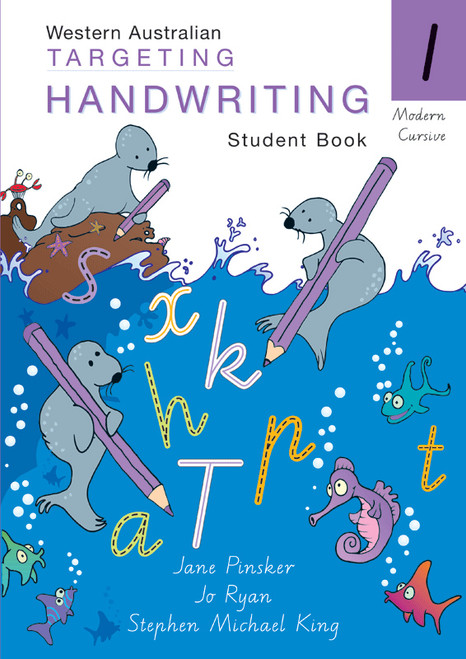 Targeting Handwriting WA Year 1 Student Book