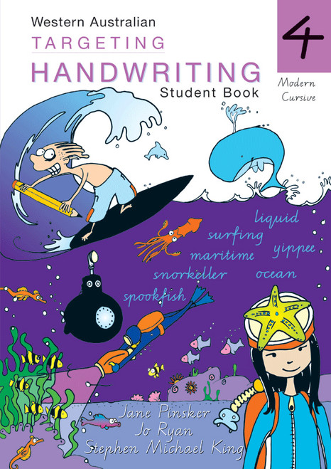 Targeting Handwriting WA Year 4 Student Book
