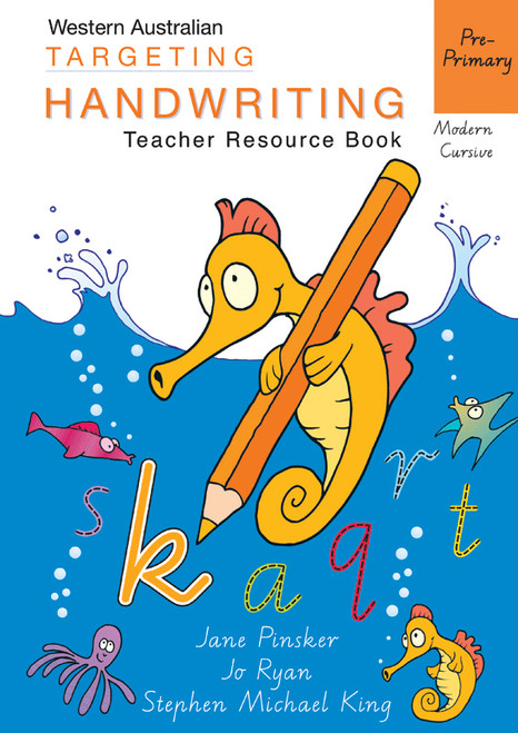 Targeting Handwriting WA Pre-Primary Teacher Resource Book