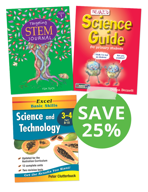 Science Book Pack Year 3