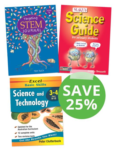 Science Book Pack Year 4