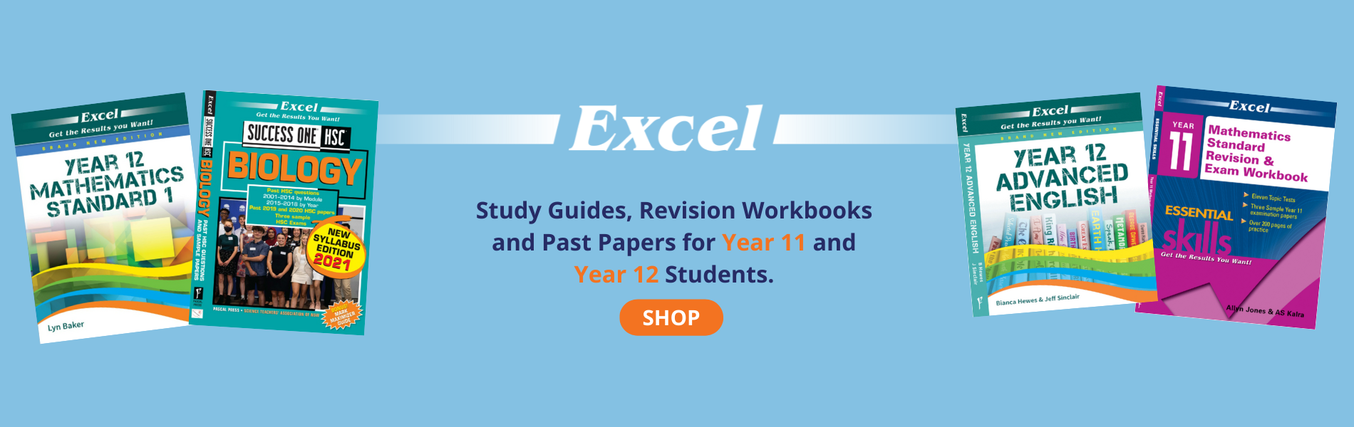 Excel Year 11 & 12 Study Guides