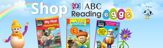 Shop ABC Reading Eggs books for your kids!
