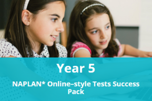Year 5 NAPLAN* Online-style Tests Success Pack
