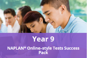 Year 9 NAPLAN* Online-style Tests Success Pack