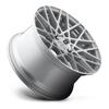 Rotiform BLQ - Silver & Machined