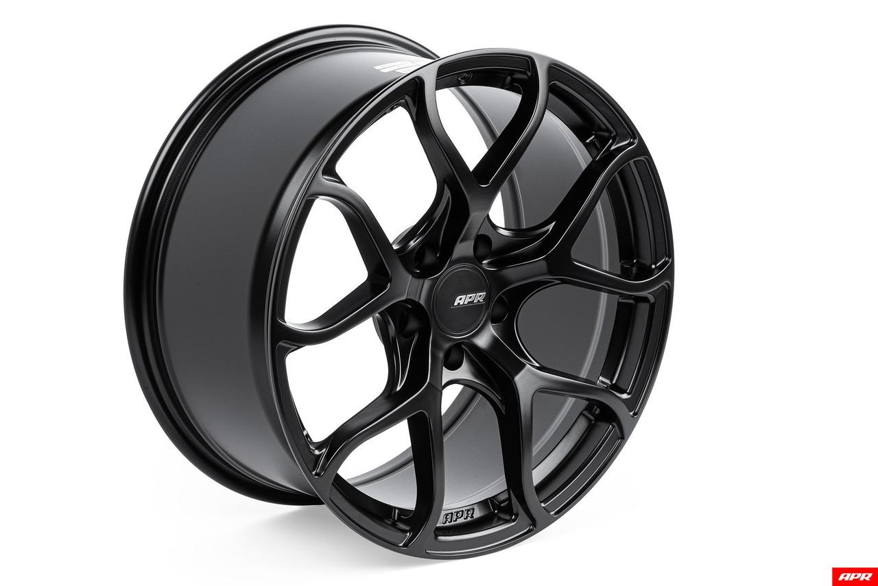APR A01 Flow Formed Wheels (19x8.5) - Satin Black
