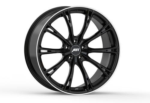 ABT GR22 Glossy Black Alloy Wheel Set For Audi Q7 4M