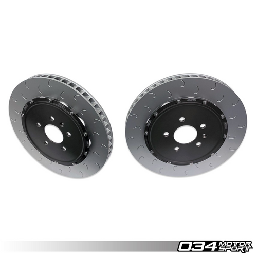 2-Piece Floating Front Brake Rotor Upgrade Kit For Audi R8 Gen 1 & Gen 1.5