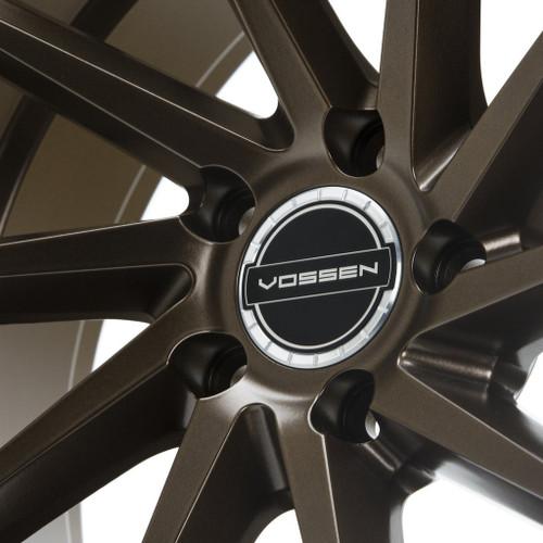 Vossen Classic Billet Sport Cap Set For CV/VF/HF Series Wheels (Gloss Clear)