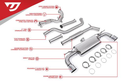 Unitronic Turbo-Back for MK7 & MK7.5 GTI