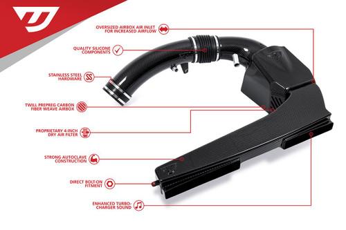 "Unitronic Carbon Fiber Intake System 4"" 2.5TFSI EVO"