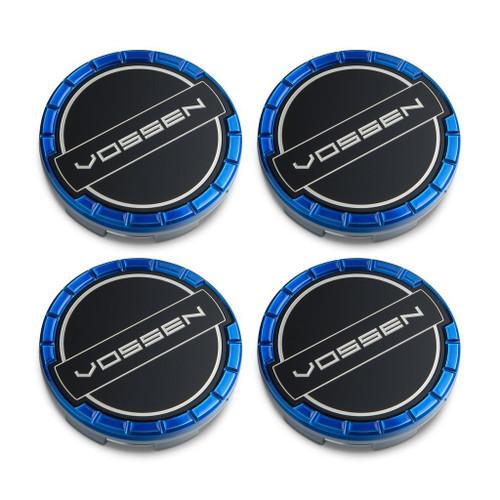 Vossen Classic Billet Sport Cap Set For CV/VF/HF Series Wheels (Fountain Blue)
