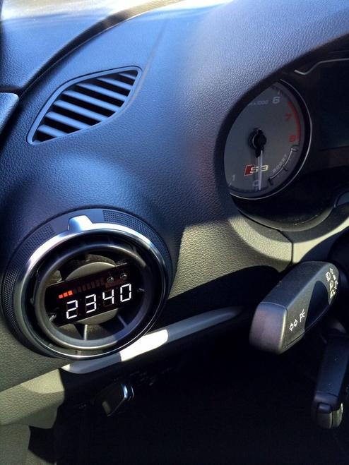 P3 V3 OBD2 - Audi 8V Gauge (2012-2019)