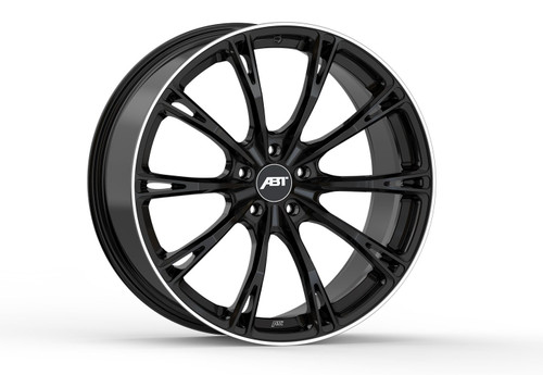 ABT GR22 Glossy Black Alloy Wheel Set For Audi A7/S7 C8