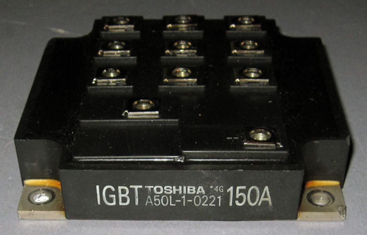 TOSHIBA IGBT 50A TRANSISTOR MODULE LOT OF 4 A50L-1-0230