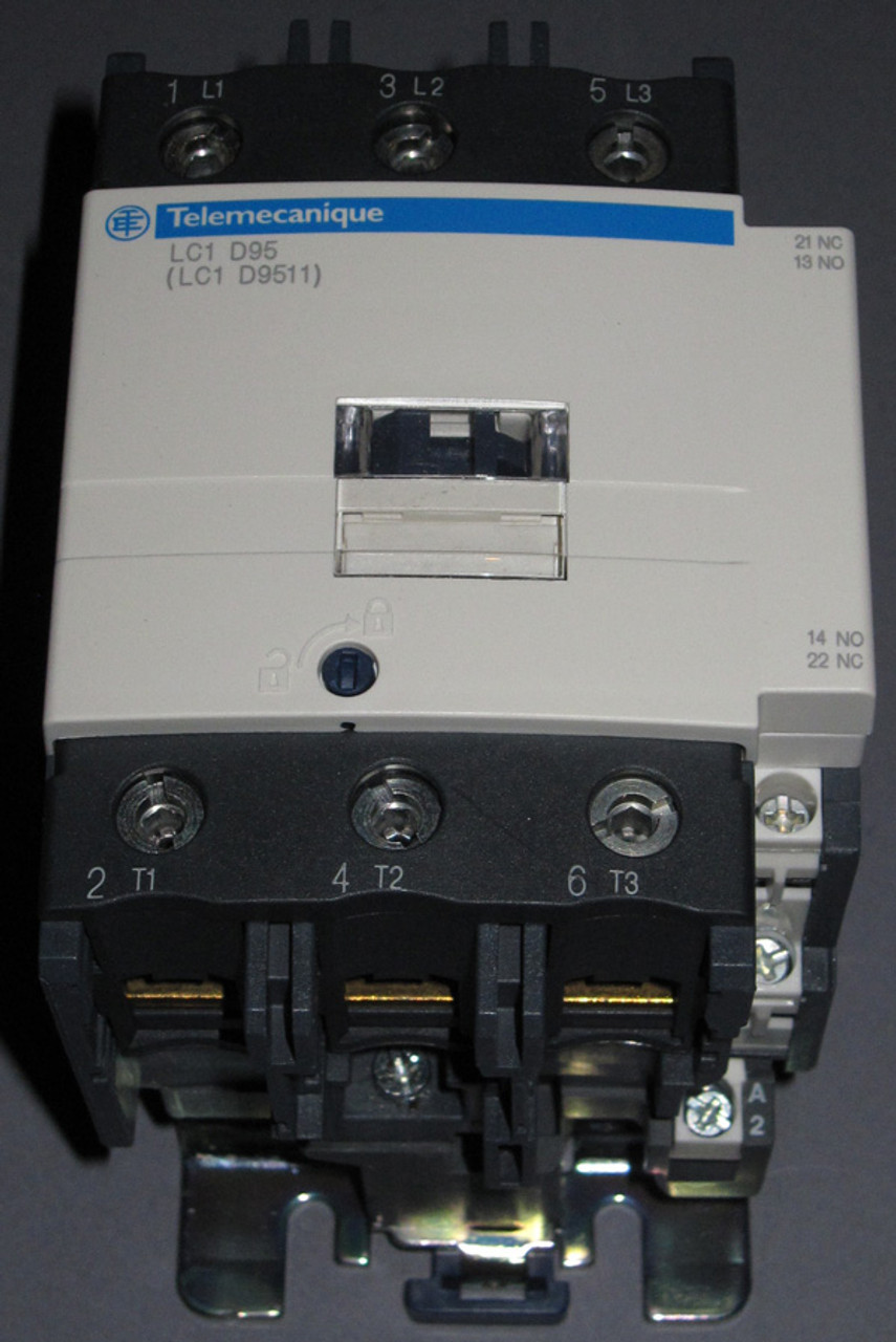 lc1-d95g7 / lc1-d9511 - 45kw contactor (telemecanique / schneider) -  electro store