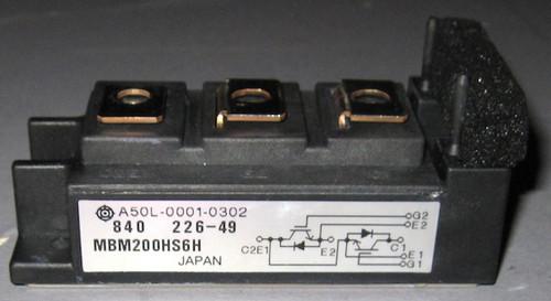 A50L-0001-0302 (Fanuc) - Also: MBM200HS6H (Hitachi) - IGBT - Used