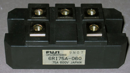 6RI75A-060 - Bridge Rectifier (Fuji) - Used