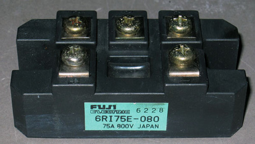 6RI75E-080 - Bridge Rectifier (Fuji) - Used
