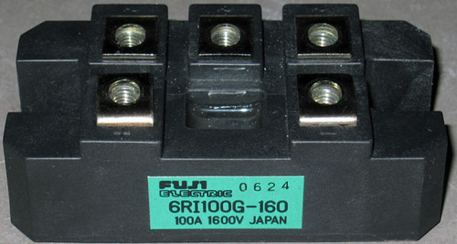 6RI100G-160 - Bridge Rectifier (Fuji) - Used