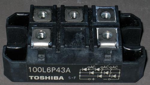 100L6P43A - Bridge Rectifier (Toshiba) - Used