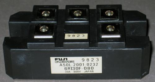 A50L-2001-0232 (Fanuc) - Also: 6RI30F-080 (Fuji) - Bridge Rectifier - Used