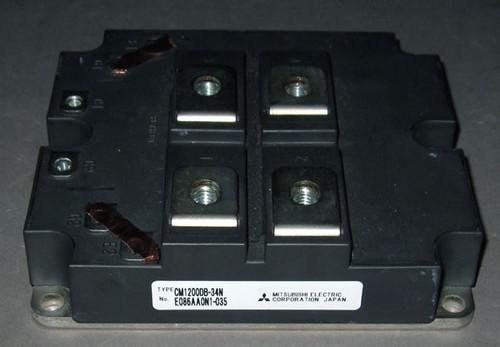 CM1200DB-34N - 1700V 1200A dual IGBT (Mitsubishi) - Used