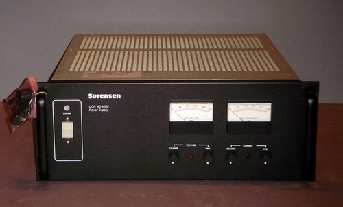 Sorensen DCR40-40B2 Programmable DC power supply, 40V 40A