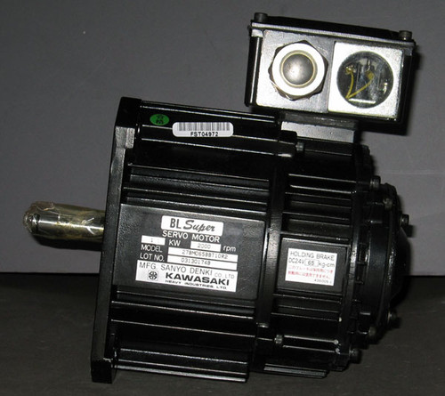 27BM065BBT10R2 - Servo Motor (Sanyo Denki / Kawasaki)