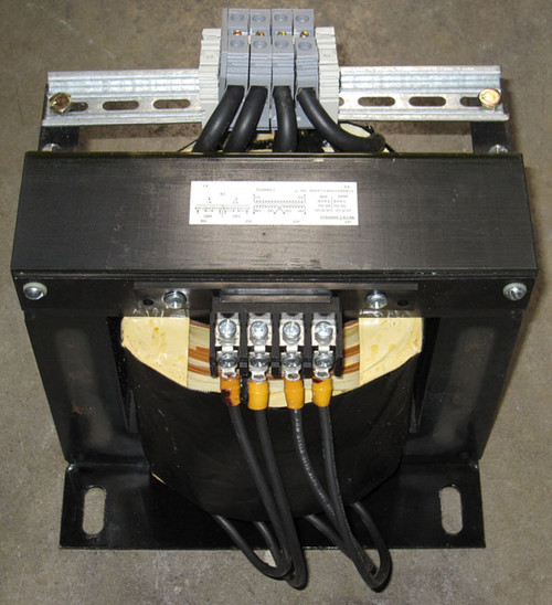 9070T3000D2 - 240/480V to 24V, 3kVA Industrial Control Transformer (Square D)