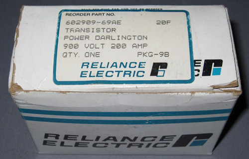 602909-69AE / ET1266M / 1DI200A-90 - Power Transistor (Fuji / Reliance Electric)