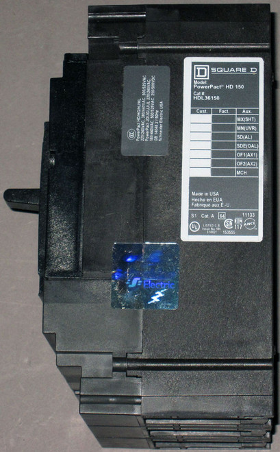 HDL36150 - 150A 600VAC/250VDC Circuit Breaker (Square D)
