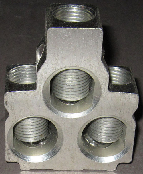 Set of (3) AL800M23 Lugs (800A) for Square D / Schneider Circuit Breakers
